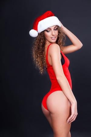 sexy santa: beautiful sexy santa girl