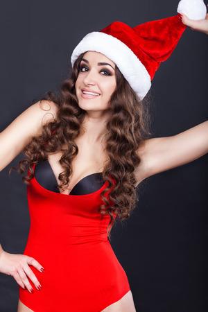 sexy santa girl: beautiful sexy santa girl