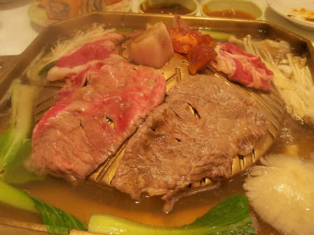griller: Japanese dish of fried meat 1