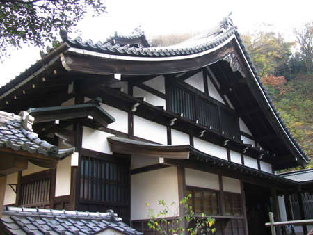 japanese temple: Japanese temple 5 Stock Photo
