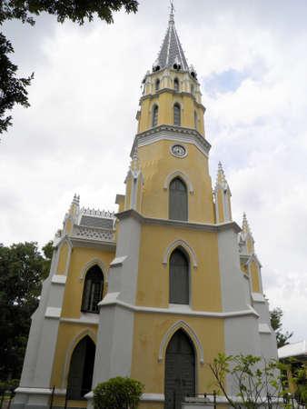Niwet Thammaprawat temple, Ayutthaya, Thailand Stock Photo - 17434995