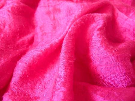 silk cloth: Panno di seta rosa
