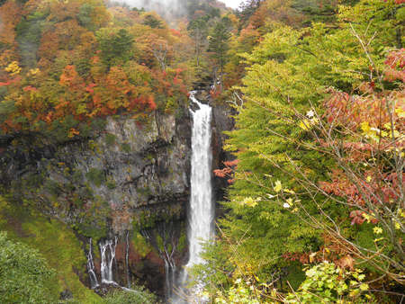 Kegon Waterfall ,Nikko, Japan photo
