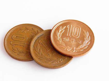 10 yen Stock Photo