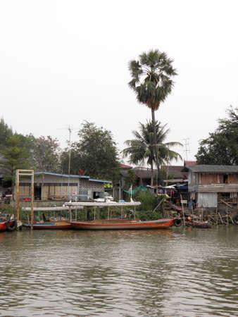 countrified: Thai house in Ayutthaya,Thailand Stock Photo