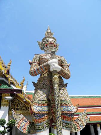 Giant in The Wat Phra Kaeo