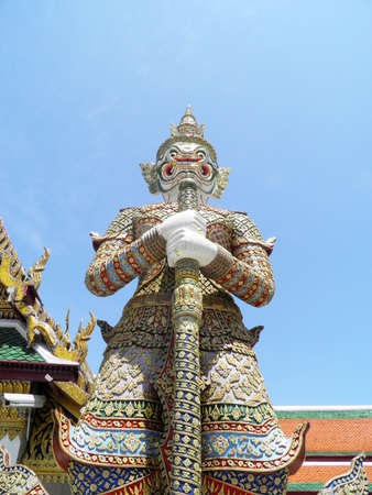 Giant in The Wat Phra Kaeo photo