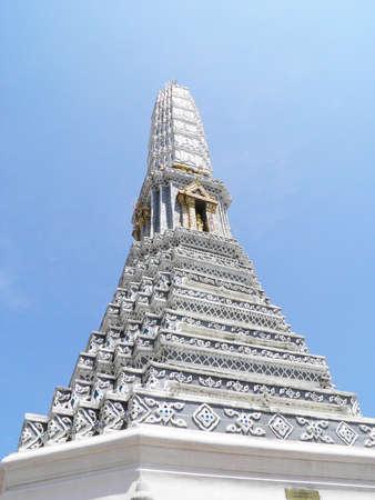 The Wat Phra Kaeo Stock Photo