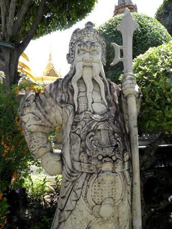 Chinese giant statue in Wat Phra Kaeo