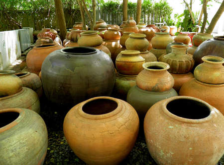 earthen: Grande vaso di terracotta