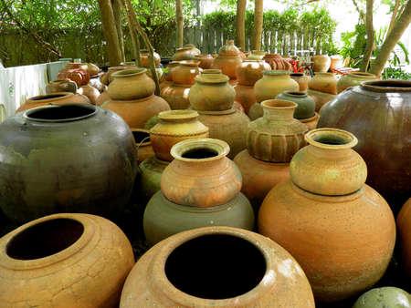 earthen: Grande vaso di terra