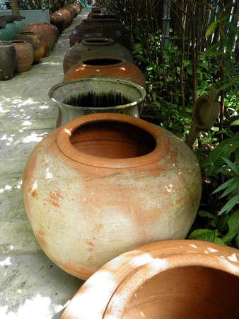 Big earthen jar