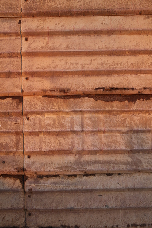 Rusty wall on street, unerground photos, streets of Israel, antique places, texture background, close up Stock Photo