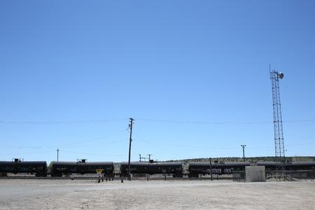 flatcar: Train with fuel