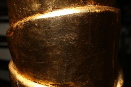 Golden texture. Close up
