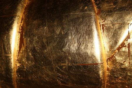 ironworks: Golden metal texture background Stock Photo
