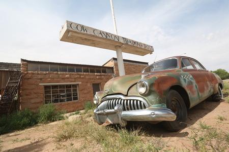 Old car in America