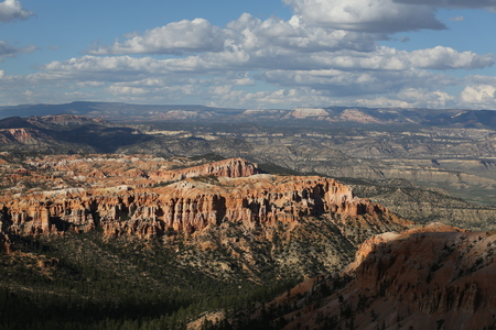 Bryce Canyon panorama 写真素材