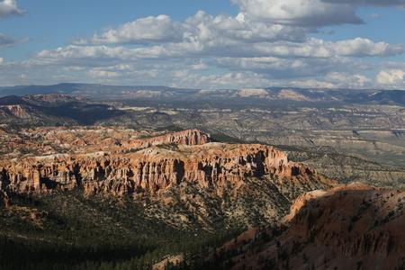 Bryce Canyon panorama 스톡 콘텐츠