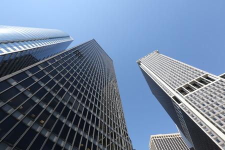 Amazing skyscraper in New York City. America, New York City - May 12, 2017 Editorial