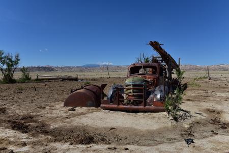 Old car. America, Arizona - May 1, 2017