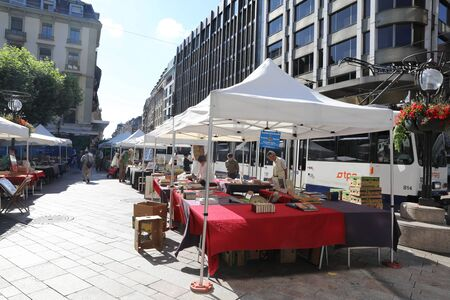 Geneva flea market 新聞圖片