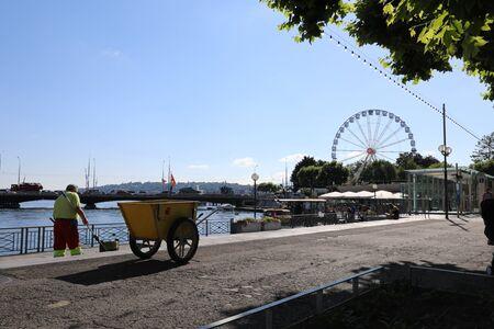Geneva Ferris Wheel. 新聞圖片