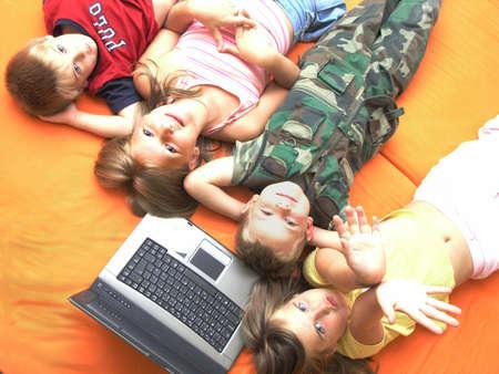 Children and laptop II