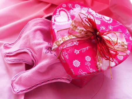Valentine gift Stock Photo