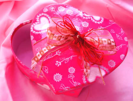 Valentine gift box Stock Photo - 307664