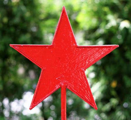 red communist star