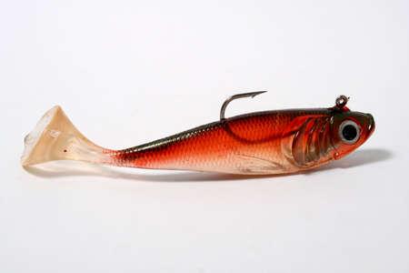 fishing bait with white background