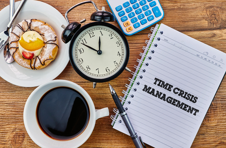 mangement: Time Crisis Management - The modern concept of time management to reach the goal of increasing productivity.