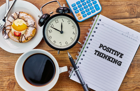 mangement: Positive Thinking - The modern concept of time management to reach the goal of increasing productivity.