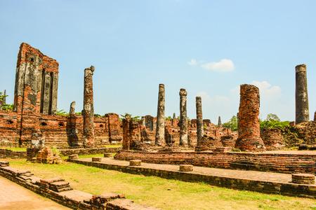 ruins: Ayutthaya ruins Stock Photo