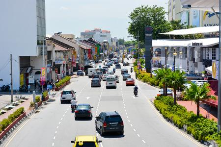 penang: Penang Island road