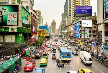 Streets of Bangkok, Thailand Stock Photo - 49261119