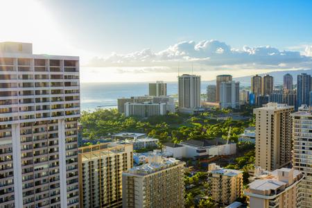 honolulu: Honolulu skyline