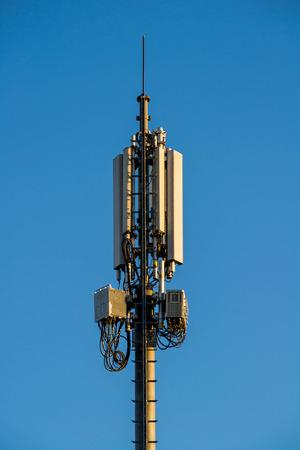 GSM transmitter tower