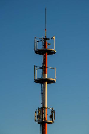 transmitter: GSM transmitter tower