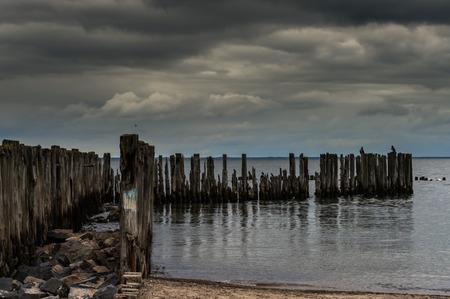 breakwaters: Breakwaters on the Baltic Sea