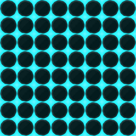 streaks: Circles of black stone with blue streaks of energy. Seamless texture. Technology seamless pattern. Illustration