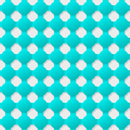 indent: Connected circles of paper with deformed petals cut on the edges and shadows in the cutout.  Seamless texture. Seamless pattern.  geometric background.