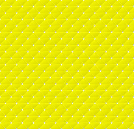 deformed: Connected yellow triangles of paper with deformed petals cut on the edges and shadows in the cutout.  Seamless vector texture. Seamless pattern. Vector geometric background. Illustration