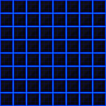 streaks: Squares of black stone with blue streaks of energy. Seamless vector texture. Technology seamless pattern. Vector geometric dark background.