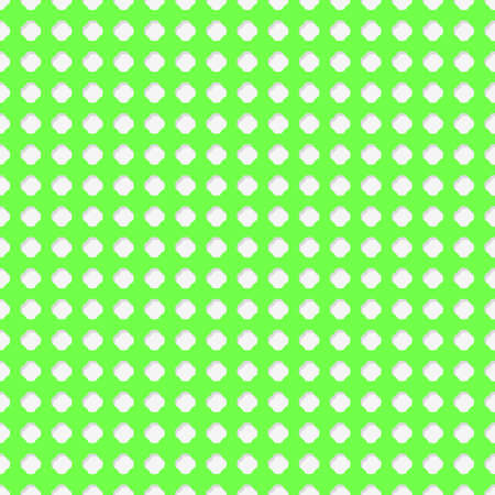 coupled: Connected circles of paper with petals cut on the edges and shadows in the cutout. Green lime color. Seamless vector texture. Seamless pattern. Vector geometric background. Illustration