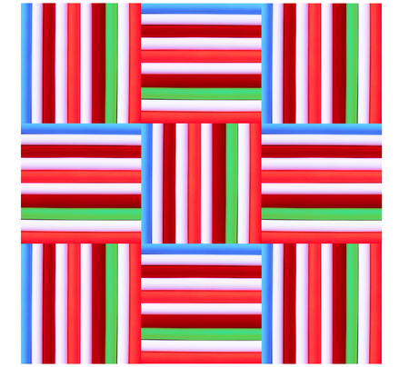 square background: colourful stripe pattern and square background design