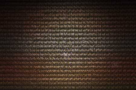 interlace: Interlace style pattern for abstract gold and copper colour background