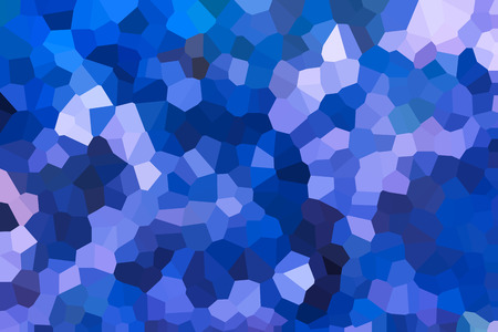 disseminate: Colourful crystallize abstract background in blue colour tone
