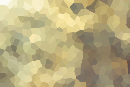disseminate: Colourful crystallize abstract background in soft yellow cream and colour tone